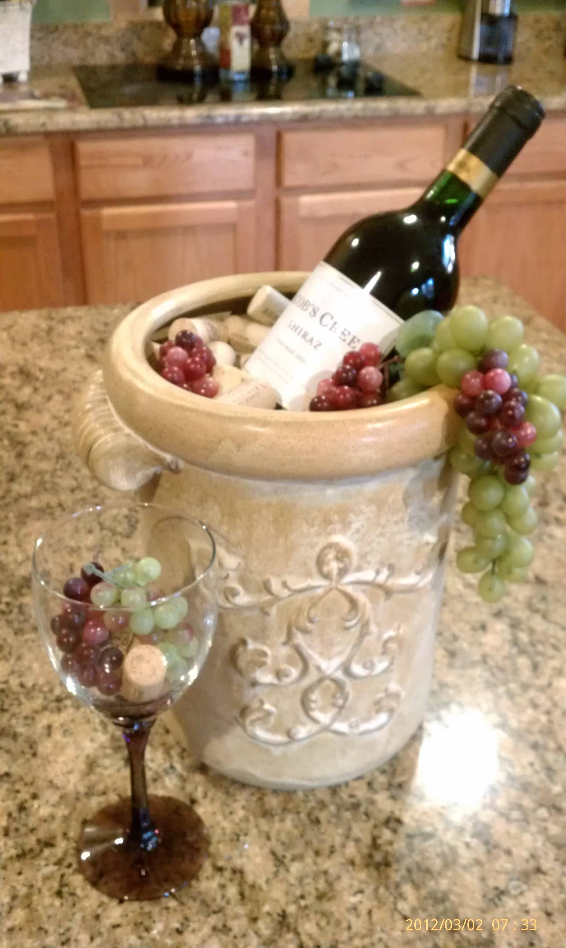 grape decor for kitchen bobs furniture sets my wine home pinterest