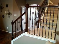 IRON BALUSTERS - Double Basket Stair Wrought Iron Baluster ...