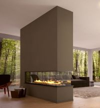 Fascinating Fireplaces Modern Design Room Divider Eco ...