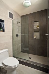 Modern Bathroom Design Ideas with Walk In Shower | Small ...
