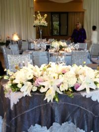 Sweetheart table arrangement gorgeous! | Wedding bouquets ...