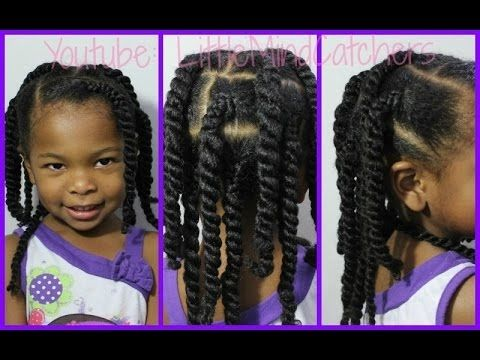 """Kids Hairstyles Braids And Twist Braided Twists"""" Easy Hairstyle"""