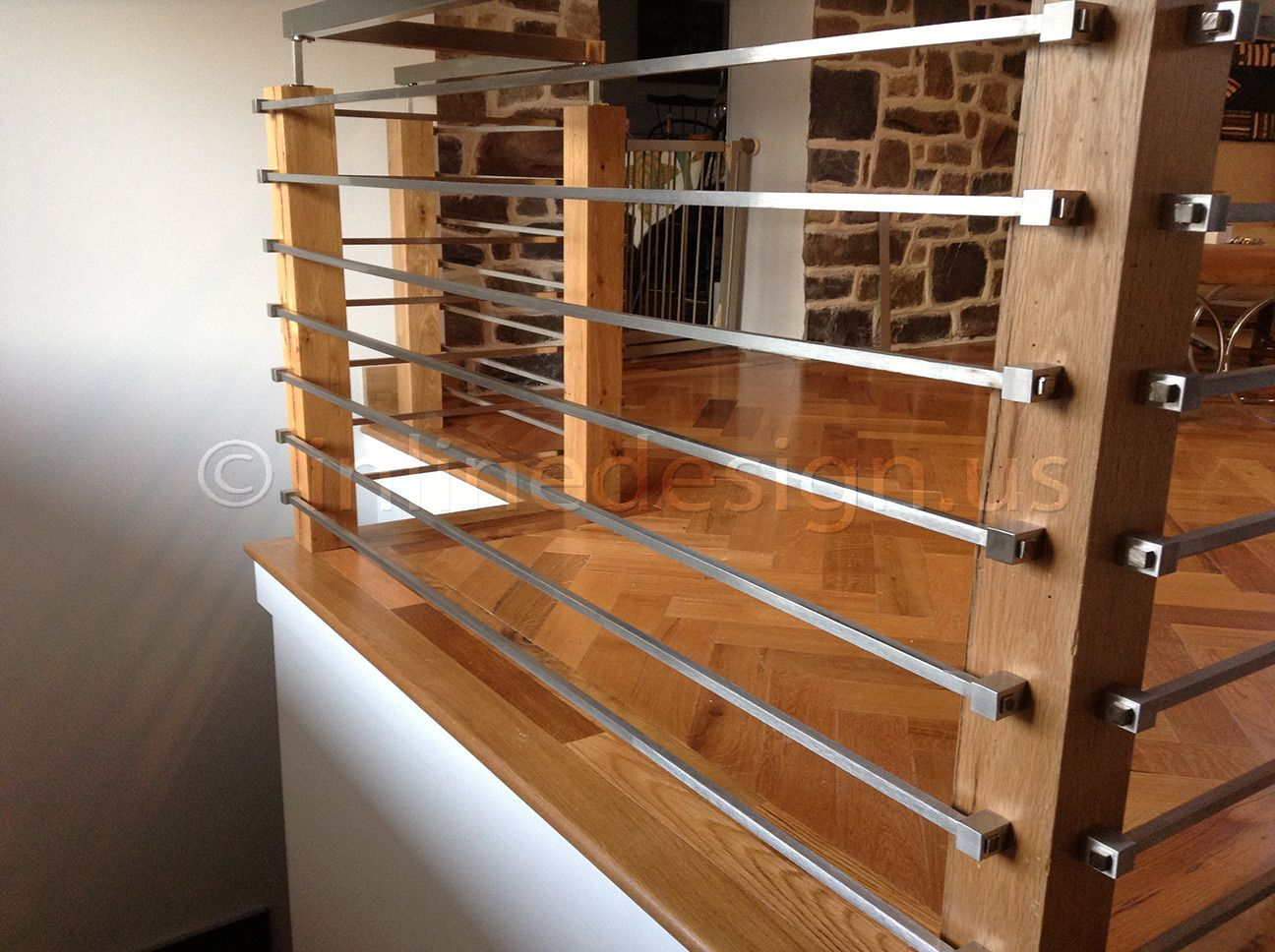 Stainless Steel Stair Railing Kits. Stunning Contempo
