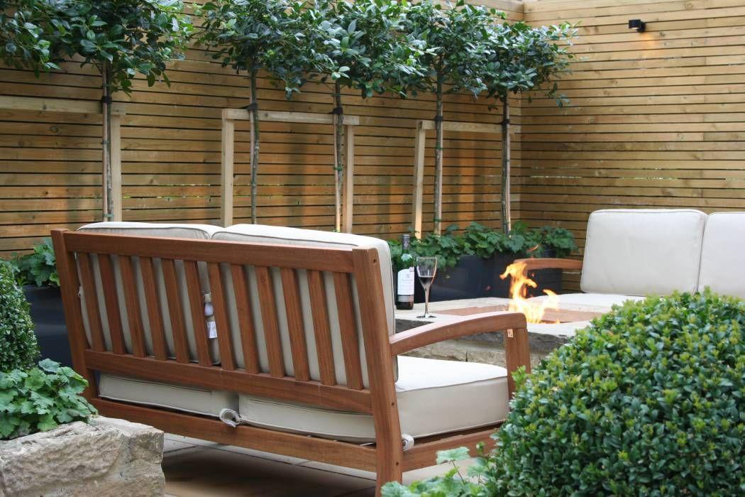 Jardines Diseo Moderno Diseo De Jardin Con Columpio