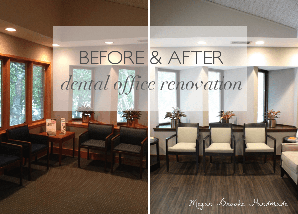 inexpensive desk chairs folding saucer chair target before & after:: dental office renovation | dental, designs and decor