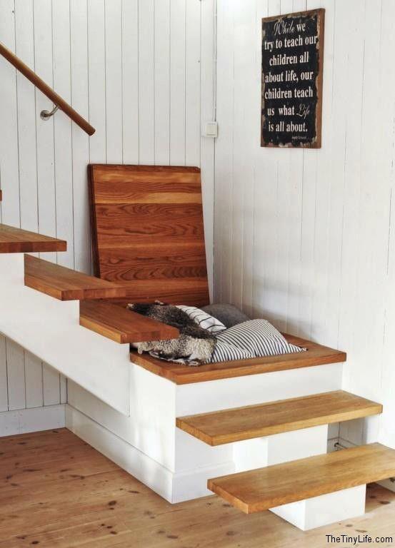 Exclusive FREE Liquorice Pompom Tutorial Stair Storage Storage