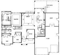 Rambler House Plans with Basements | Panowa Home Plan ...