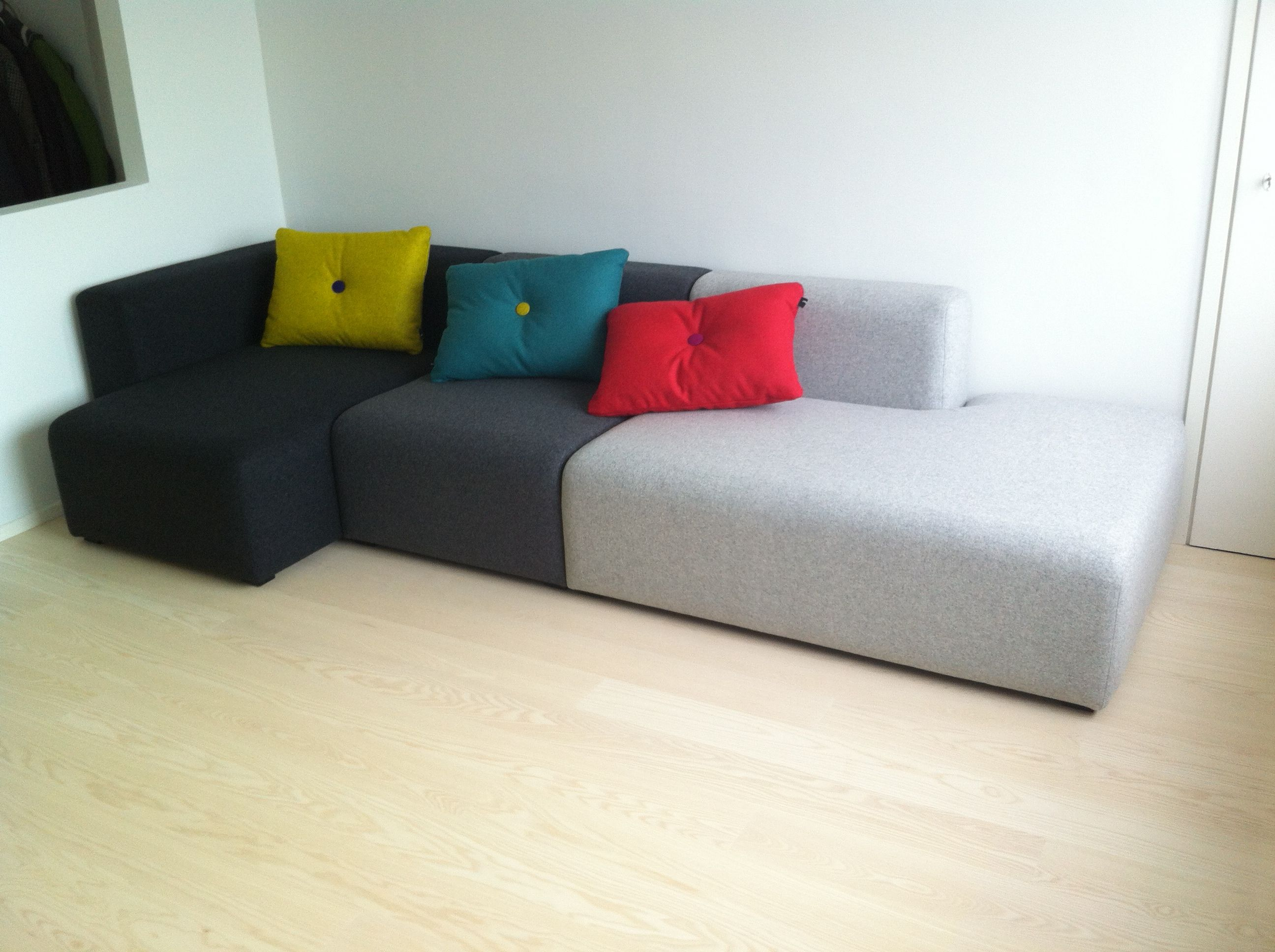 hay mags sofa fabrics sectional red leather chriztee and home pinterest interiors