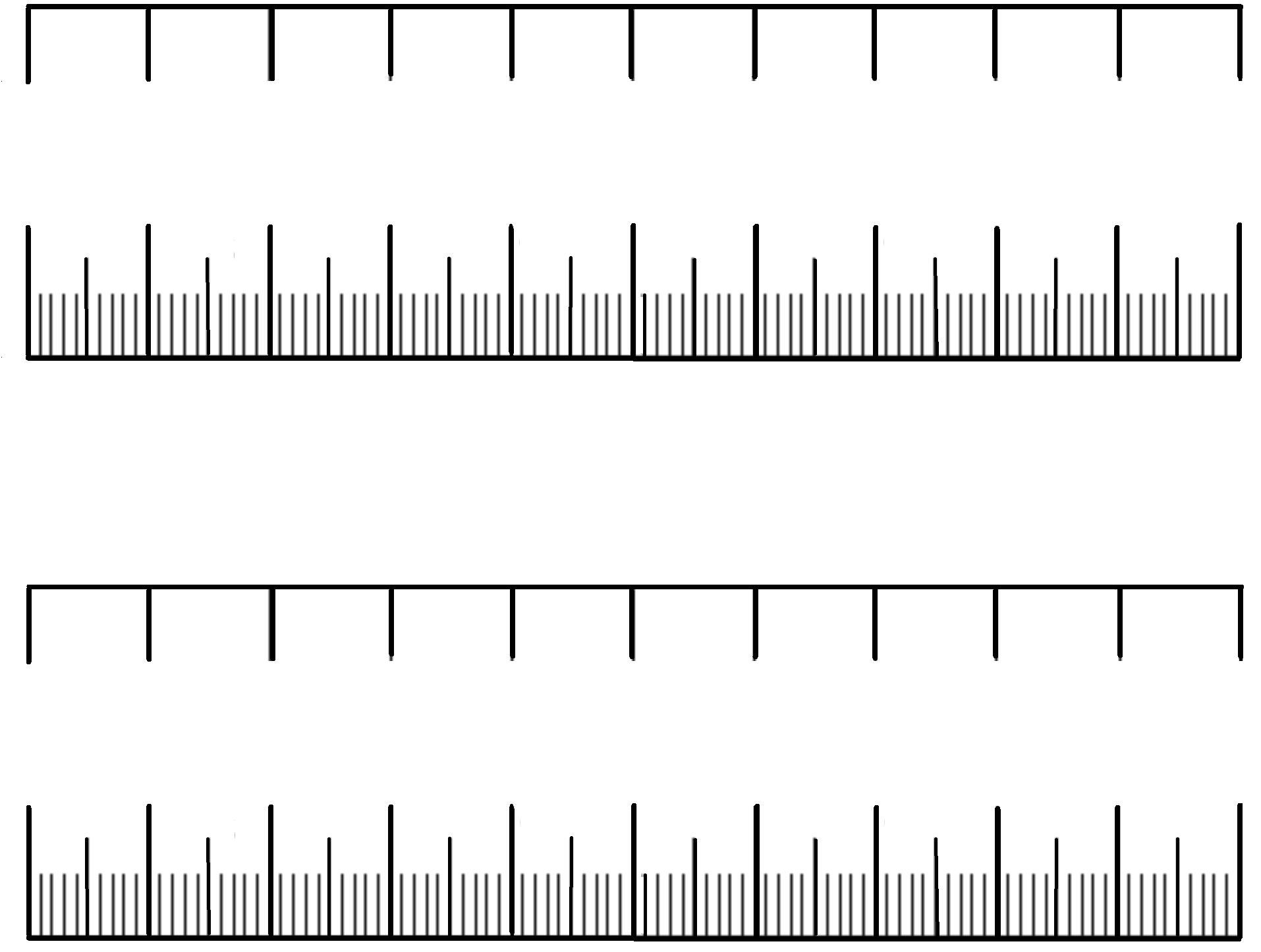 Blank Decimal Number Lines