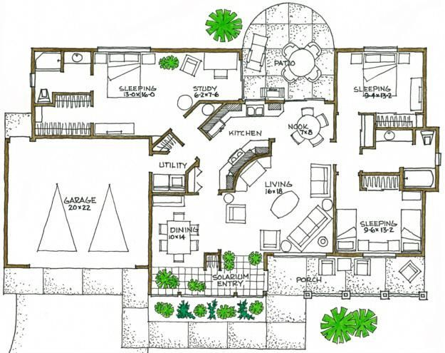 Eco House Designs And Floor Plans Home And House Decor