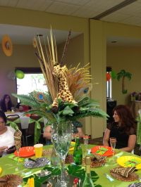 Safari centerpiece  | Pinteres