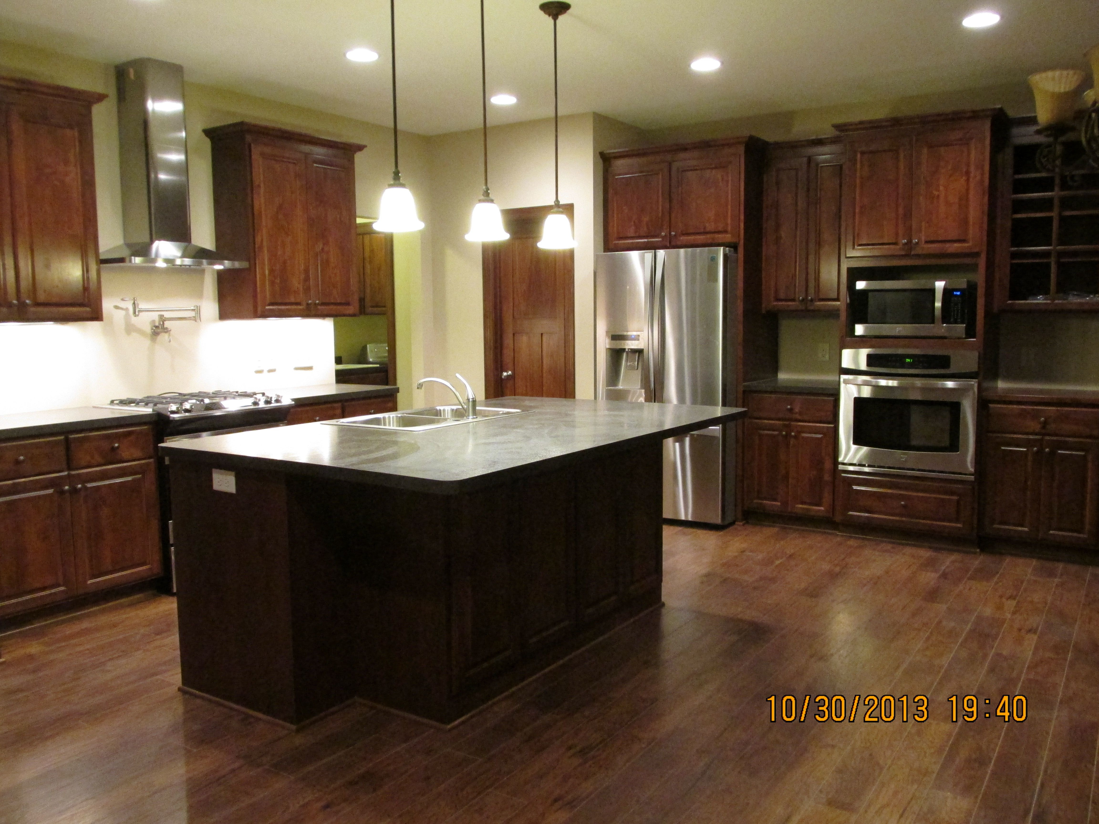 coffee color kitchen cabinets carts for small kitchens knotty alder w espresso stain popular