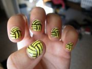 water polo ball nails 4 em