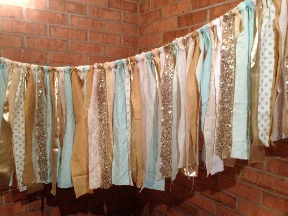Best 25 Fabric garland ideas on Pinterest  Rag banner Rag garland and Fabric strip garland