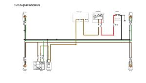 indicators section of the simplified wiring diagram for