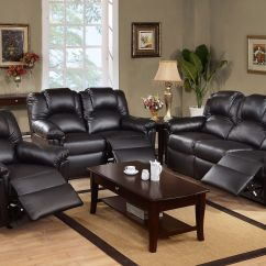 Black Sectional Sofa Room Ideas Cheapest Small 2 Seater Bed Cool Reclining Good 24