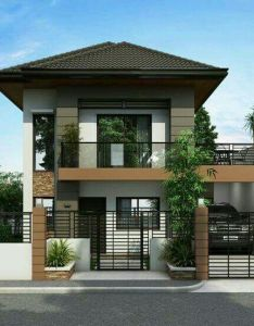 Two story house plans series pinoy also fachada villa designs rbg pinterest architecture and modern rh