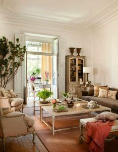 House salon blanco con molduras  also interior color schemes part  monochromatic colour rh pinterest