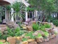 Rock garden wall by Waterfalls Fountains & Gardens Inc ...