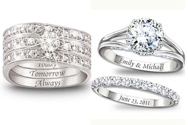 wedding ring engraving ideas tips - Wedding Ring Engraving Ideas