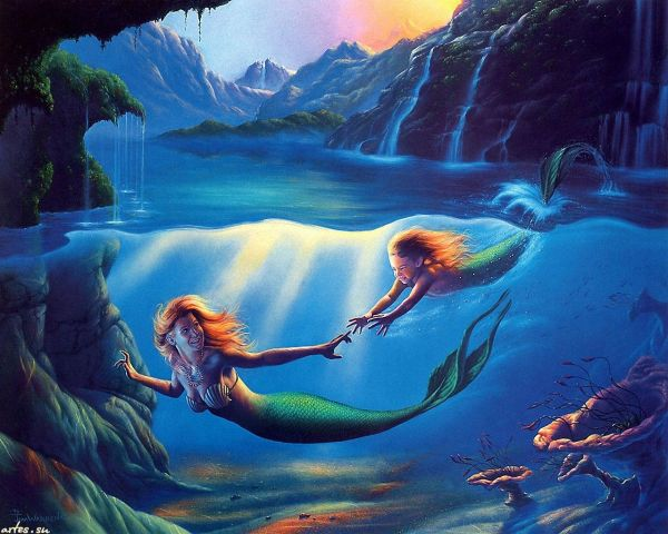 Under the Sea Mermaid Images