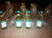 Barefoot Moscato Mini Wine Bottles