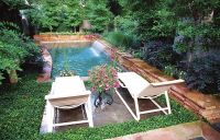 small backyard with pools florida | Small pool called a ...