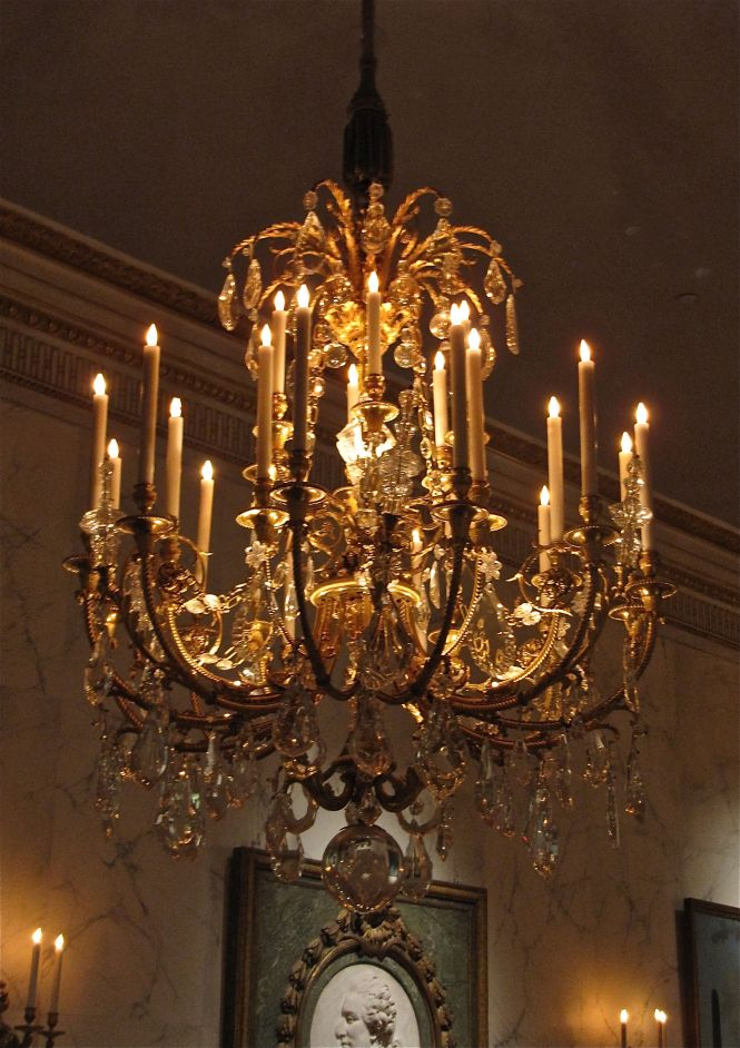 The French Hall Chandelier At Met Museum Nyc One Of A Pair Huge About 5 Tall 28 Light Ormolu Chandeliers Perfectly Embossed And Chased