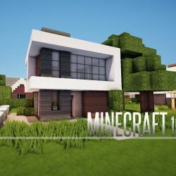 MINECRAFT House  How To build A Modern House / Best ...