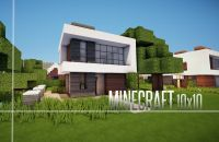MINECRAFT House : How To build A Modern House / Best ...