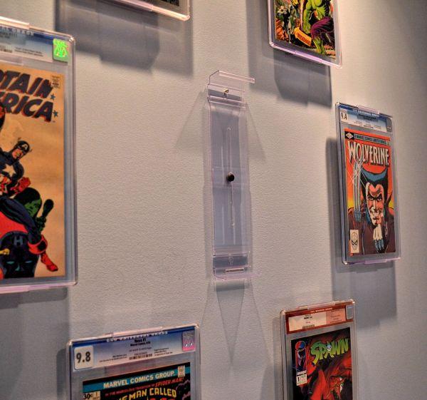 Comic Book Wall Display