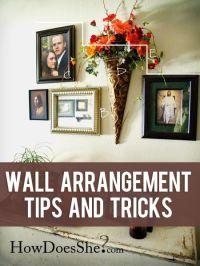 Wall Decor Arrangements on Pinterest | Professional Office ...