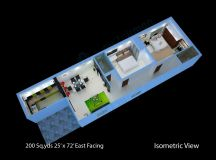 200-sq.yds@25x72-sq.ft-east-face-house-2bhk-isometric-3d ...