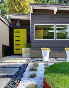 Architectures modern exterior design ideas denver budgeting and yards mid century house colors ranch  also rh pinterest