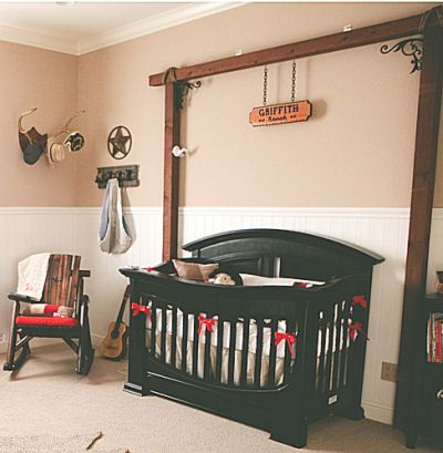 Western Baby Nurseries on Pinterest Western Nursery