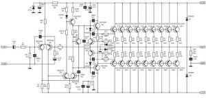 1000 Watt Amplifier APEX 2SC5200 2SA1943 | luu | Pinterest