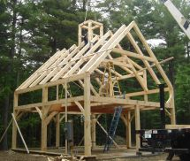 Pre-cut Timber Frame Totry In 2015 Cabin