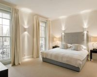 Amazing Style White And Silver Bedroom Photo Of Beige Grey ...