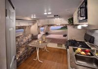 Travel Trailer interior