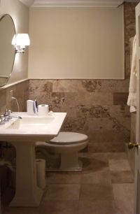 tiling bathroom walls
