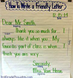 Friendly Letter For Kids - Letter [ 1600 x 1447 Pixel ]
