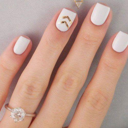 White Nail Polish Designs  14 Designs