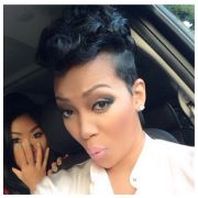 keyshia cole short curly hair