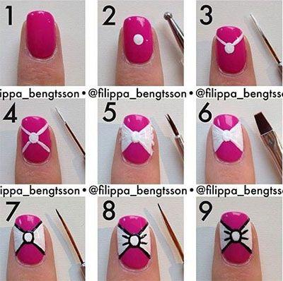 15 Completely Adorable DIY Fingernail Techniques Design Nail