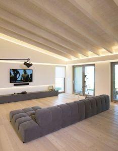 Contemporary single family house located in gubbio italy designed by menichetti caldarelli also casa sulla collina interiors pinterest rh