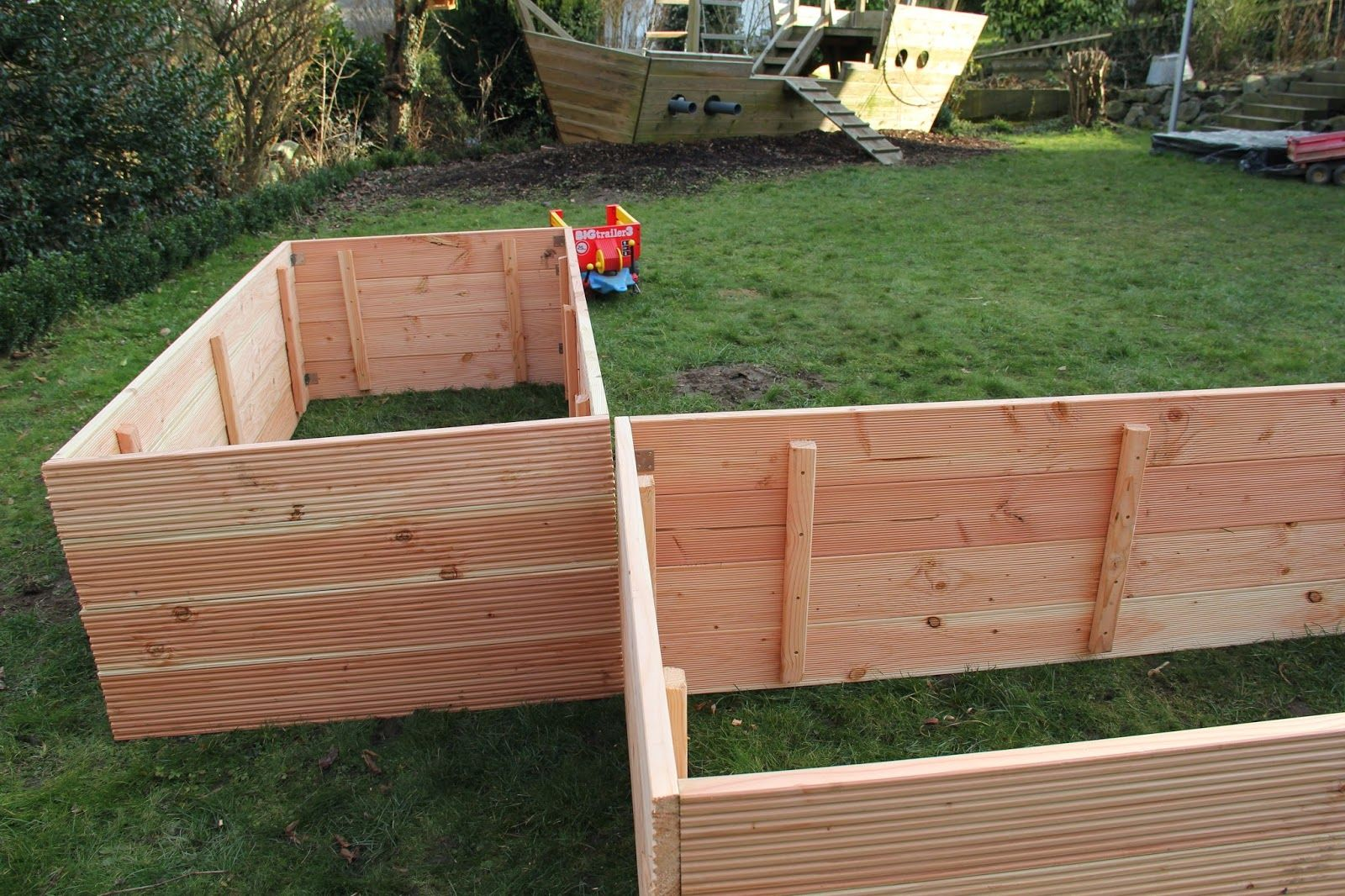 Hochbeet Bauanleitung Raised Bed Building Instructions T