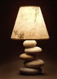 Stacked Rock Lamp / Mark Guido - mainerockguy | Rock/Stone ...