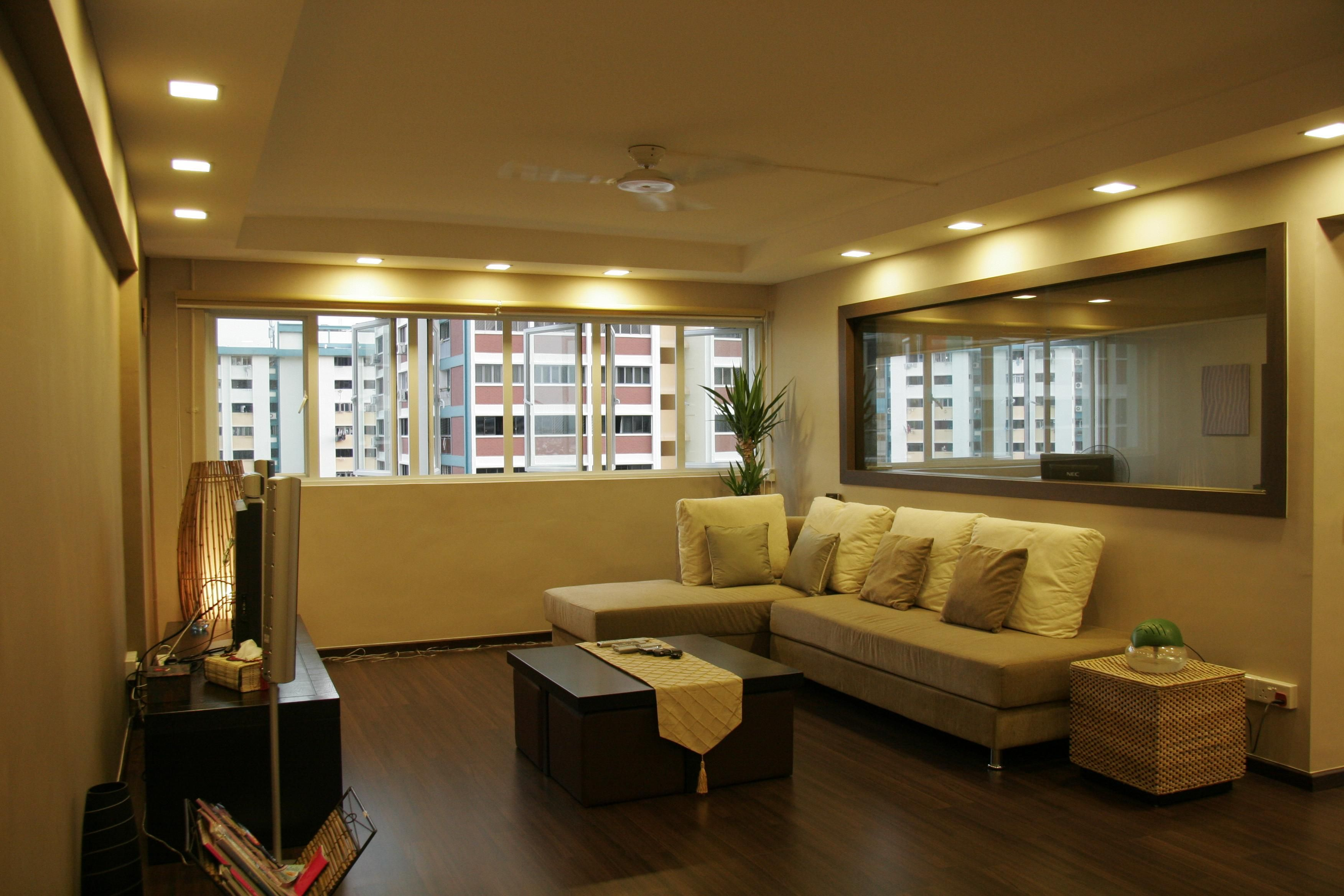 hdb living roomL box n ceiling  Ideas for home reno