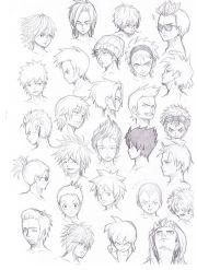 anime guy hairstyles - google