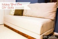 How to Make Your Own Couch and DIY Sofa Bed | Bed ...